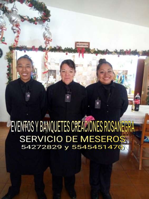 Servicio de meseros en magdalena contreras