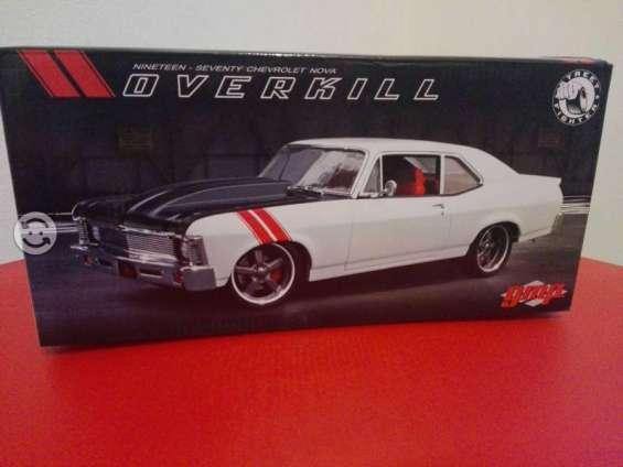 Chevrolet nova 1970 escala 1:18