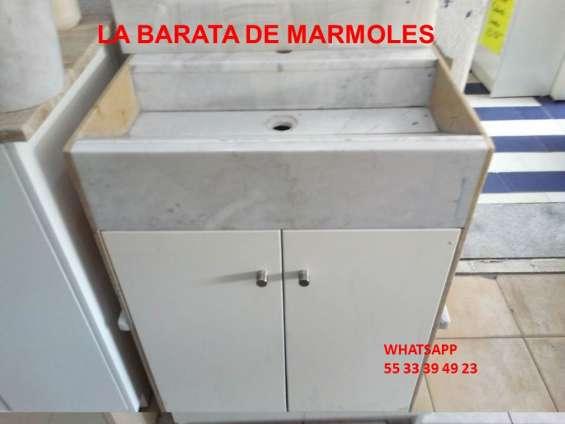 Muebles para baño de marmol