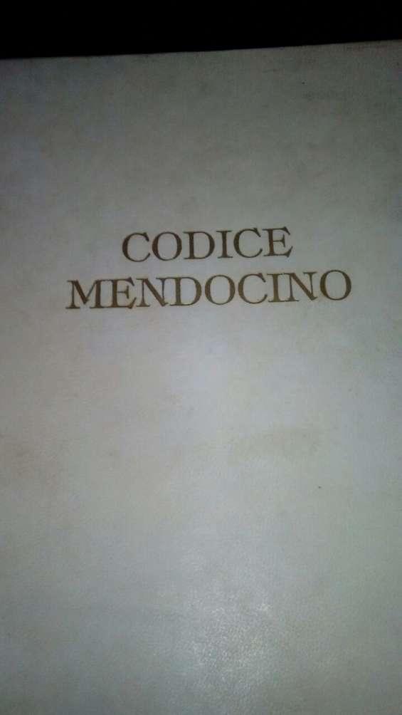 Codice nendocino o manual de mendoza