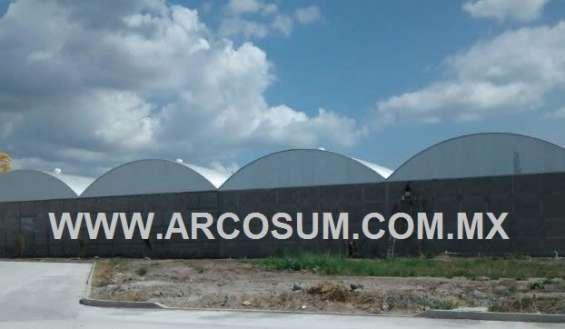 Techumbres de acero -techos de arco