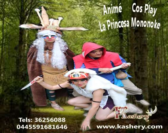 Mononoke anime japones mensaje cuidado de la naturaleza show kashery