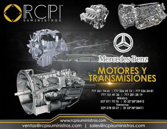 Motores y transmisiones para mercedes benz
