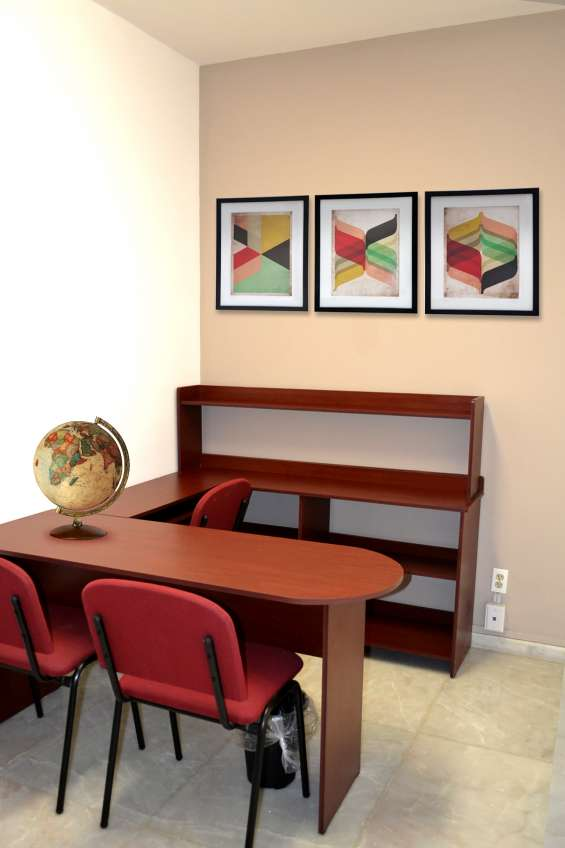 Oficinas físicas listas para usarse