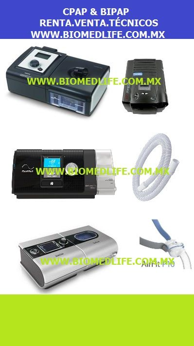 Cpap resmed & respironics