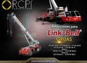 Refacciones para gruas industriales LINK BELT