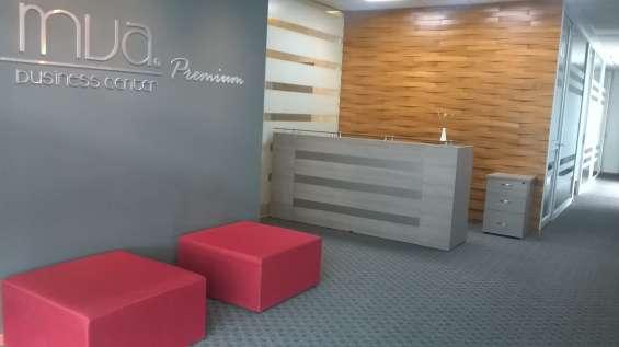 Oficina para dos personas frente al parque italia
