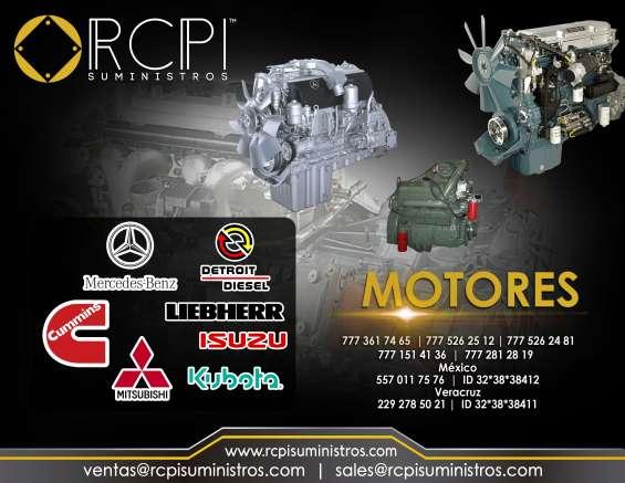 Motores para gruas industriales