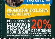 Loft amueblado en el sur de la CDMX por noche $950