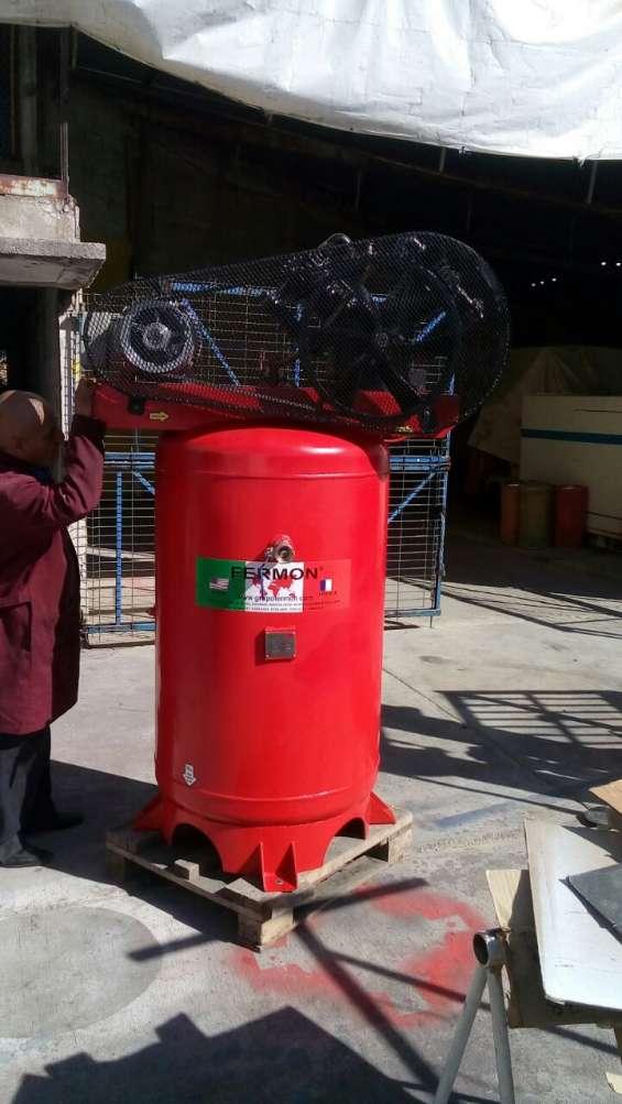 Compresor fermon de piston 10hp t500 vert trifasico