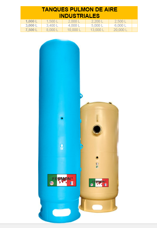 """Tanque de 3400 litros vert s/base diseñado a 150 lbs 45""""diametro"""