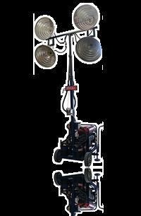 Venta y renta torres de iluminacion a gasolina
