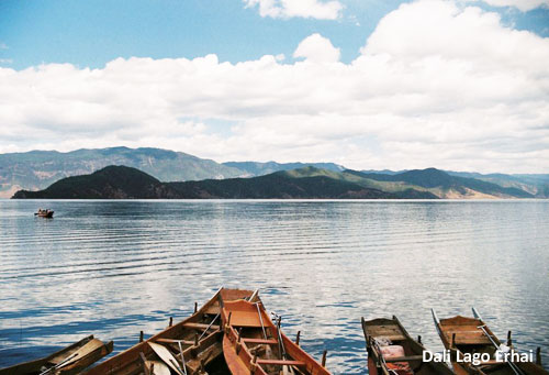 Lago erhai de dali