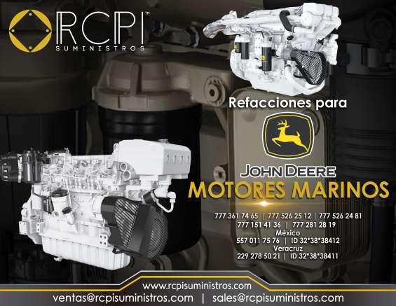Refacciones para motores maritimos john deere