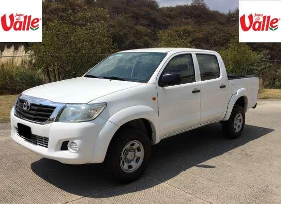Toyota hilux 4x4 2014