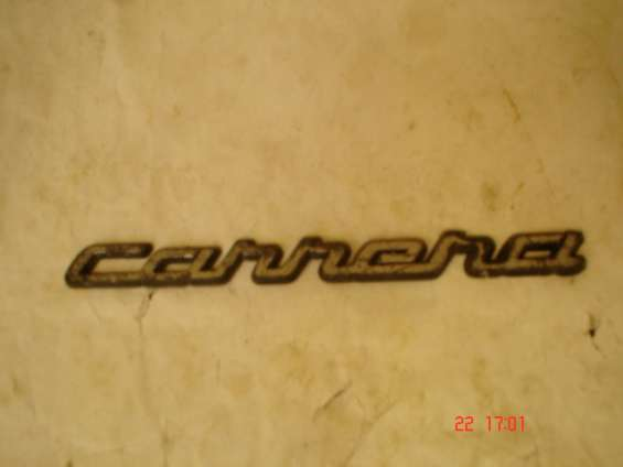 """Emblema """"carrera"""" vw"""