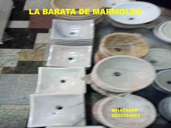 Lavabos de marmol en el 3392