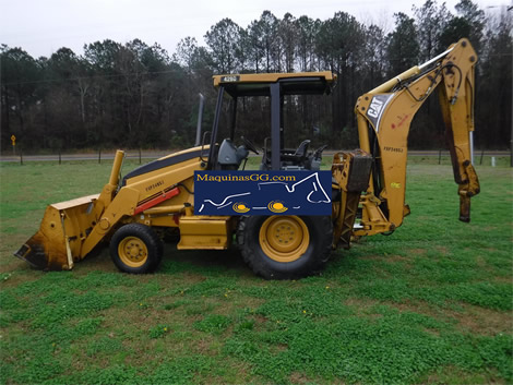 2005 retroexcavadora caterpillar 420d 4x2 (4968)