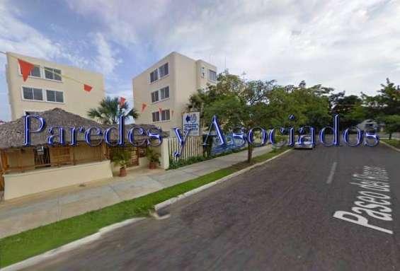 D-218 departamento en residencial fragatas, 3 recamaras amueblado
