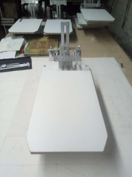 Fabricante de bisagras para impresion textil, plano, serigrafia