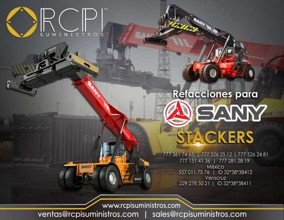 Refacciones para stackers sany