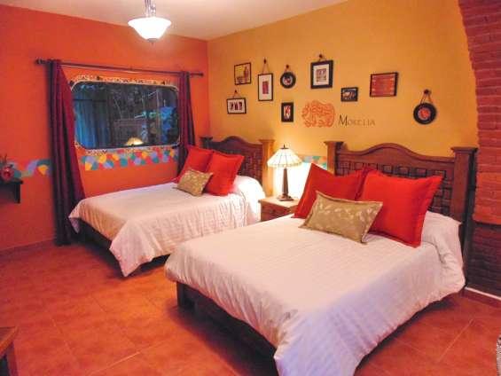 Suite en renta amueblada por noche al sur del df