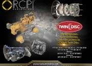 Transmisiones y convertidores para gruas Twin Disc