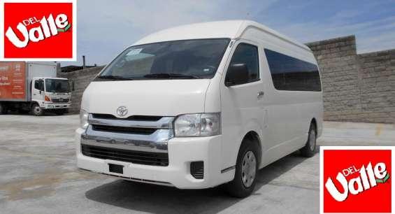 Toyota hiace toldo alto 2014