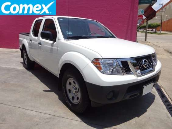 Formidable camioneta nissan frontier 2014