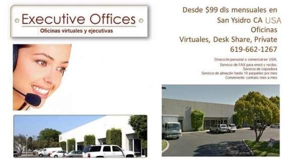 Oficina en renta sd california 1x