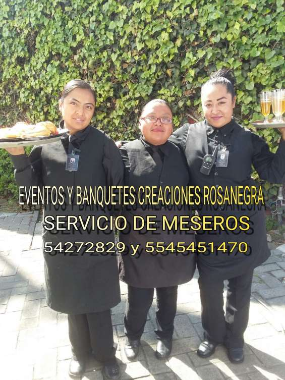 Meseros en santa fe