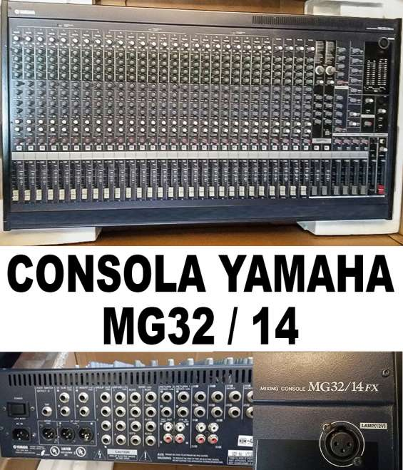 Consola de audio yamaha mg32 / 14 fx