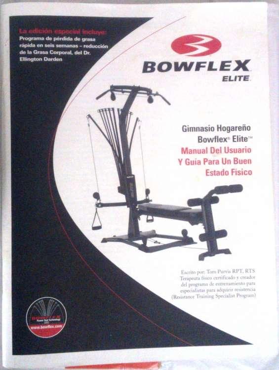 Manual del bowflex