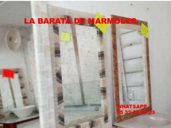 !!! espejos de onix y marmol a solo $ 950.00 !!!