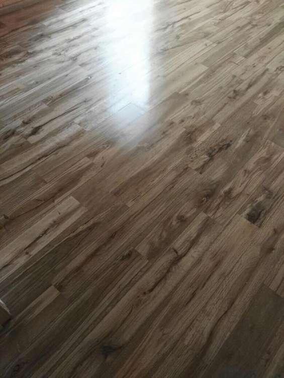 Madera nacional especie encino para piso en diseño duela
