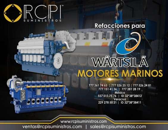 Refacciones para motores wartsila