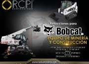 Refacciones para equipo Bobcat