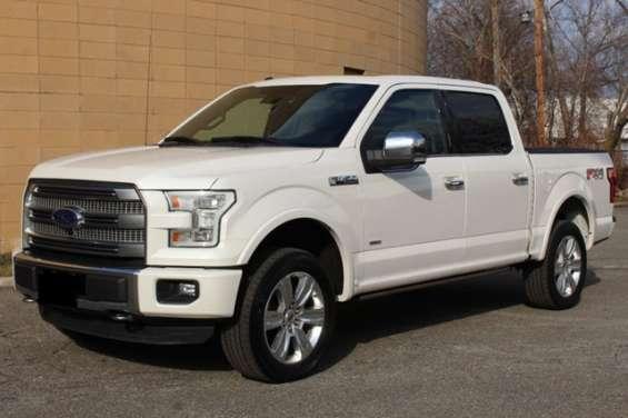 Ford f150 platinum 2014