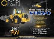 Venta de refacciones para maquinaria pesada Volvo