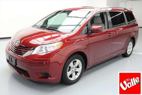 Impecable toyota sienna 2014