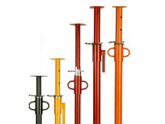 Pie derechos o puntales metalicos varias medidas en venta!!!