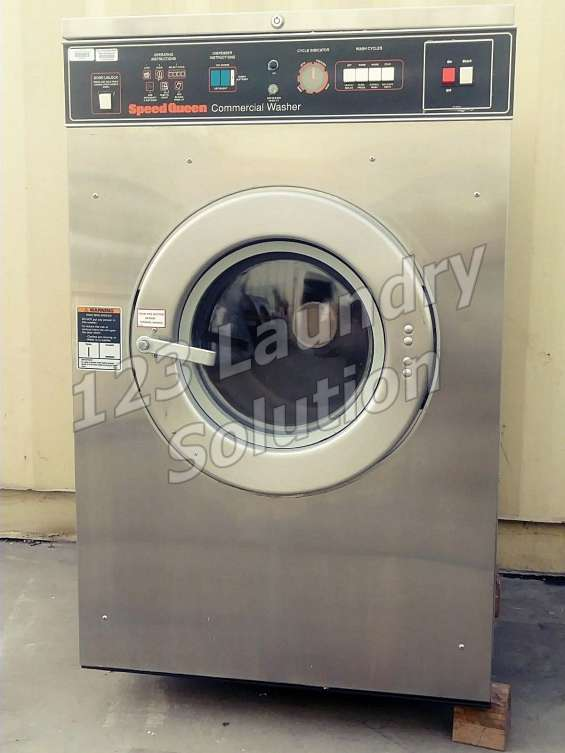 Speed queen 27lbs lavadora de carga frontal 208-240v sc27mn2au10001