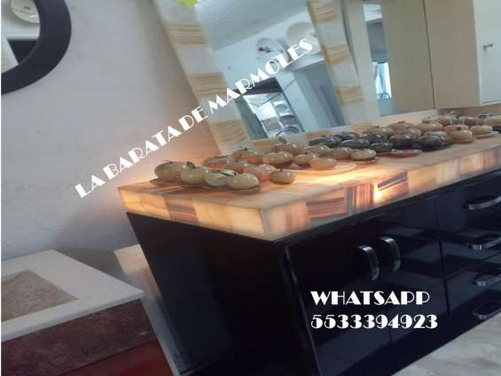 !!! bufetero con cubierta de granito y onix !!!