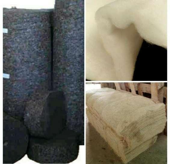 Guata, delcron, sisal para colchón, algodón laminado