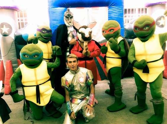 Mágico show de las tortugas ninjas en puebla