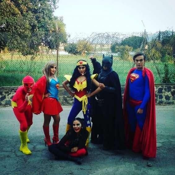 Show de super heroes en puebla