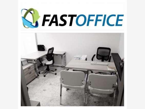 Oficina corporativa en provi, amueblada y con servicios incluidos
