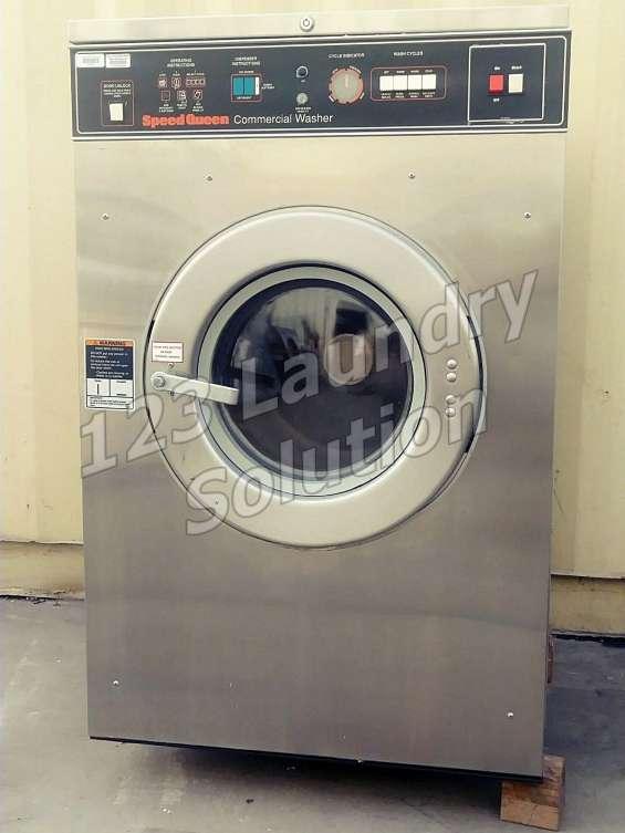 Speed queen 27lbs lavadora de carga frontal 208-240v