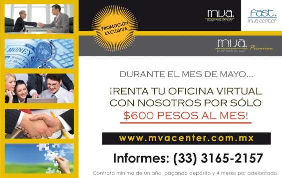 Atención!! renta de oficinas virtuales