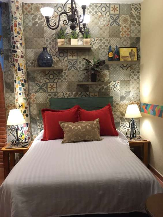 Suite amueblada ideal para viajes en pareja en alvaro obregón